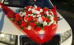 Свадебные цветы на машину. Украшение. Декор. Аренда. Прокат.