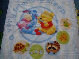 poszewki kołdra poduszka dla dziecka kubuś puch