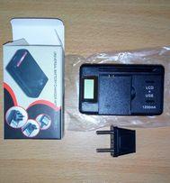 Универсальное жк-и USB зарядное устройство для смартфонов