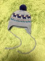 Шапочка зимняя для младенца фирмы TuTu (Польша)