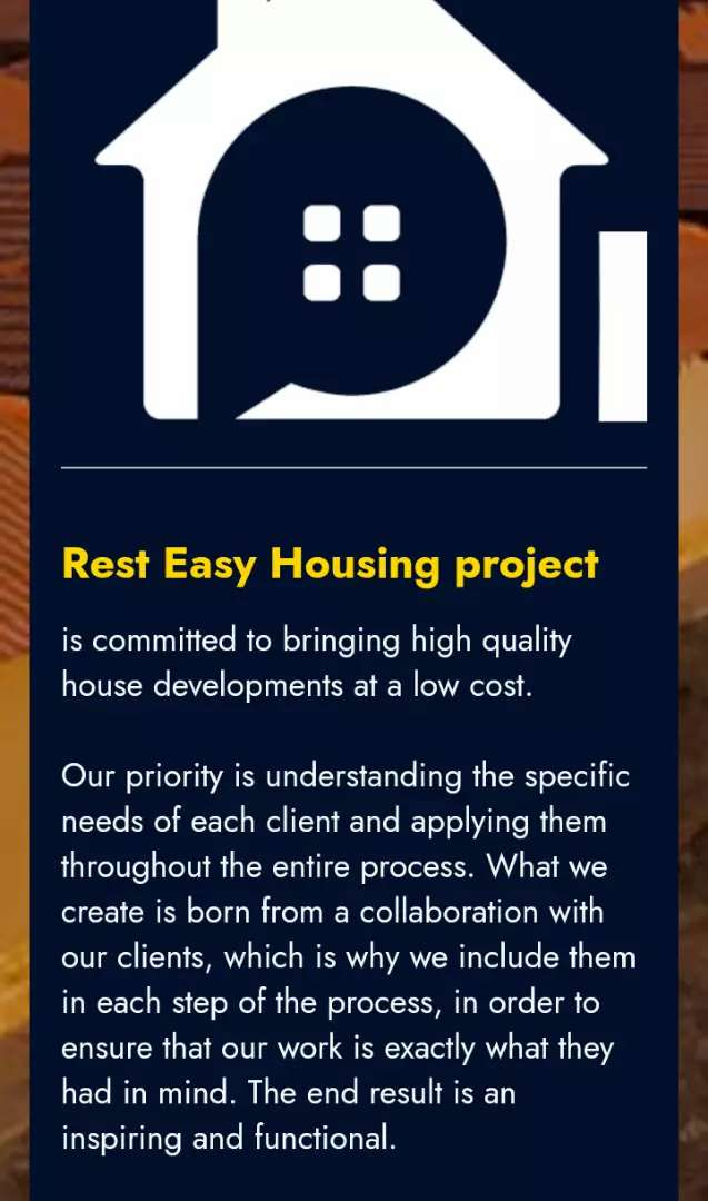 Low cast housing project/ earning from 3.500 apply for your house now