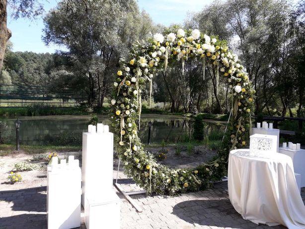 Весільні декори, живі квіти Львов - изображение 8
