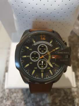 Diesel watch brown strap