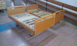 drewniano-stalowe łóżko rehabilitacyjne