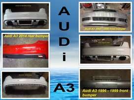 Audi A3 bumpers for sale.