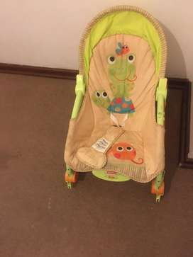 Manual rocker/seat and chair