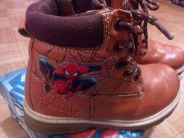 Kozaki skórzane Spiderman