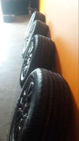New 18'' Ford Ranger mags and new tyres available