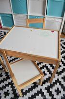 Деревянный набор стол + 2 стульчика новый ИКЕА ikea