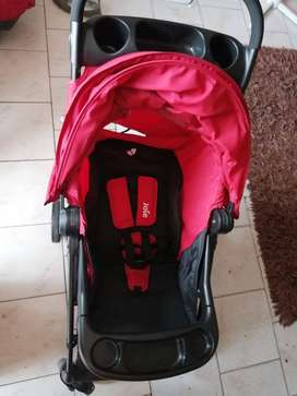 Joie pram and car seat travel system barely used