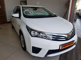 2014 TOYOTA COROLLA 1.6 ESTEEM WITH ONLY 131580KMS