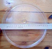 Тарелка для микроволновки свч 245 мм универсальная под куплер