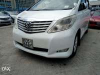 Toyota Alphard, twin sunroof,fully-loaded for sale 0