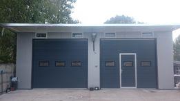 Brama segmentowa garażowa przemysłowa bramy garażowe ZIELONA GÓRA