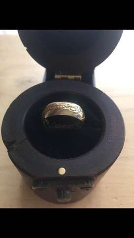 Custom made Lord of The Rings replica ring