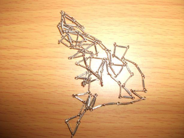 Серебряная цепочка советская(50-60 годов), окружность 60см Полтава - изображение 2