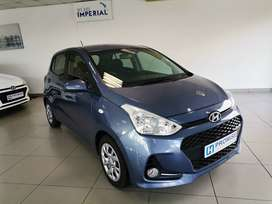 2017 Hyundai Grand i10 1.2 Motion, Blue with 27000km available now!