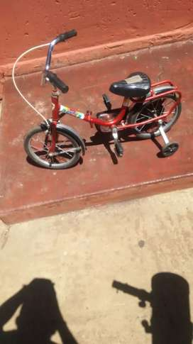 Kiddeo folding bicycle