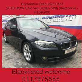 2010 BMW 5 Series Sedan 528i Steptronic - R159,900