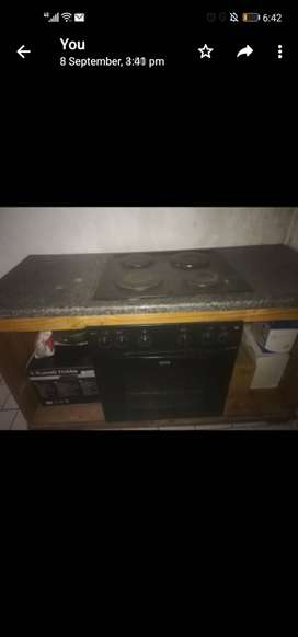 Stove with table top forsale