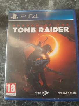 PS4 Shadow of tomb raider