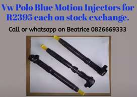 Polo blue motion Injectors