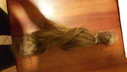 Włosy naturalne kolor blond ok.35cm -GRUBY WŁOS