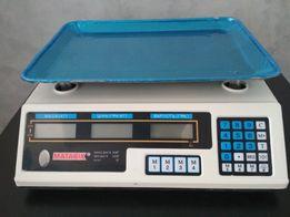 Весы (вага), веса электронные торговые (торгові) на 50 кг Новая модель