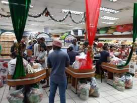 Supermarket with take away and bakery...Hoopstad Free State