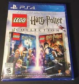 PS4 The Lego Harry Potter Collection. 2 games. Brand new. Sealed