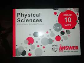 Grade 10 Physical sciences answer series