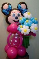 игрушки из шаров, фигуры из шаров, букеты из шаров, ромашки, розы