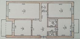 Продам 3-х комнатную квартиру Вилково (Вилкове)