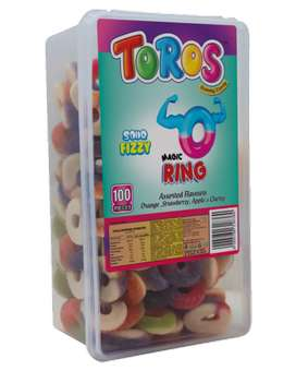 Toros chewy gums ans butter and ginger