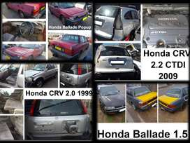 Honda spares for sale.
