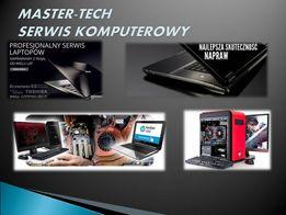 Naprawa laptopów, komputerów stacjonarnych i monitorów LED,LCD