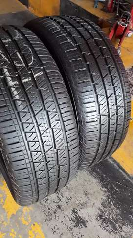 235/55/17 CONTINENTAL CROSSCONTACT TYRES×2