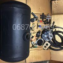 Комплект ГБО 2 на ваз карбюратор балон циліндр 50-30л Томасето Італія!