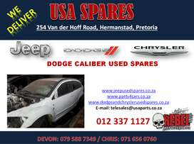 DODGE CALIBER USED PARTS / USED SPARES FOR SALE