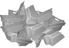 Ящики пластиковые б у обменяем старые поломанные на новые