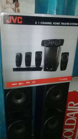 JVC 5.1 CHANNEL HOME THEATRE SYSTEM