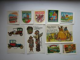 Переводные картинки (переводки), наклейки. Из ГДР.