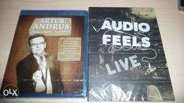 A.Andrus bluray Piłem w Spale Audiofeels dvd Live