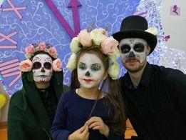 Грим на праздник, Хэллоуин, аквагрим