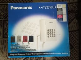 Два телефона Panasonic Sound Charger Plus и PanasonicKX-TS2350UA