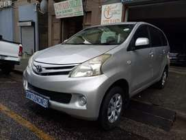 Toyota Avanza 1.5sx manual 2013 for SELL