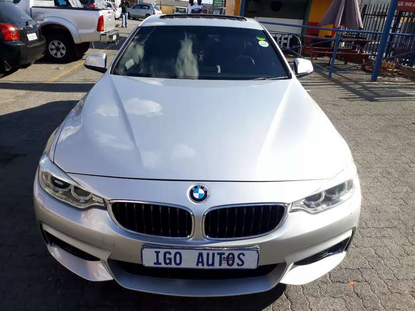 2015 BMW 4Series 420i Gran Coupe MSport Automatic R315000 0