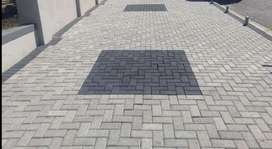 All furniture fittings and all paving and painting