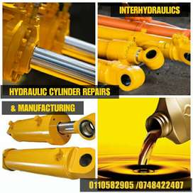 HYDRAULIC CYLINDERS REPAIR AND MANUFACTURING OF NEW ONES