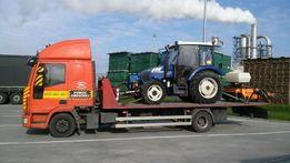 poznań transport ciągników koparek maszyn budowlanych poznań